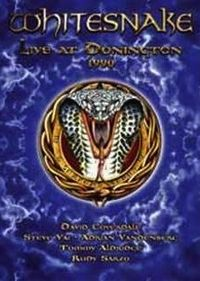 Cover Whitesnake - Live At Donington 1990 [DVD]